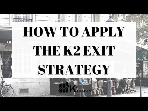 K2 TRADES - How To Apply The K2 Exit Strategy Demonstration