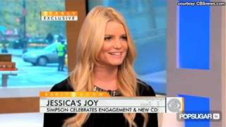 Jessica Simpson Reacts to Nick Lachey's Engagement