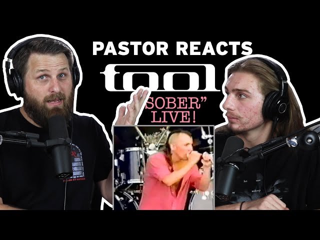 Tool Sober LIVE // Pastor Rob Reacts // Lyrical Analysis