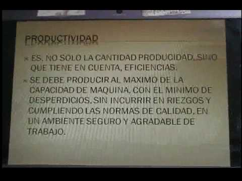 SUPERVISOR DE PRODUCCION
