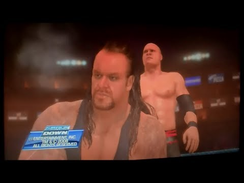 WWE SmackDown! vs. RAW 2009 - Road To WrestleMania As Undertaker - Part 2