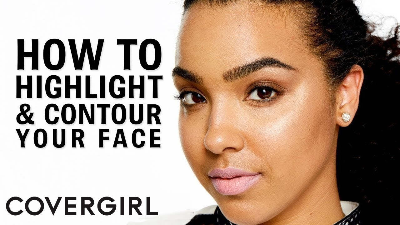 How to Contour and Highlight Your Face: Highlight Makeup Tutorial with Jade Kendle | COVERGIRL