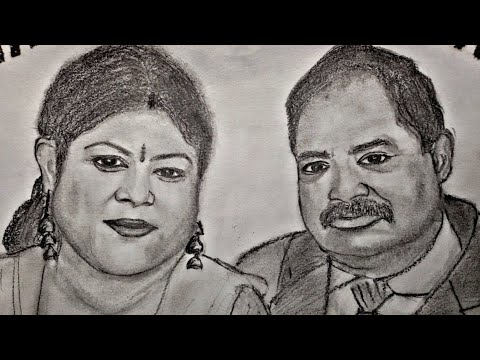Sketch Of Dr.(Mrs.)Neena Kumar..by Tushar Art Plzz Subscribe