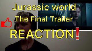Jurassic world the fallen kingdom The Final Trailer reaction