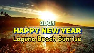 2021년 새해 미국 라구나 비치 해돋이 | 새해인사 …