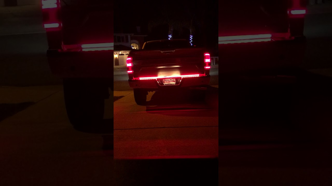 2018 f 150 limited putco blade 60 led tailgate bar night time 2018 f 150 limited putco blade 60 led tailgate bar night time mozeypictures Image collections