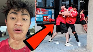 Ireland Boys get in FIGHT KNOCKED OUT
