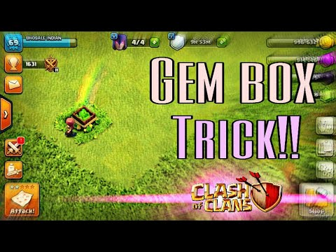 Best Ways to Collect Gems /Unique Gem Box Trick!! Must watch 😀
