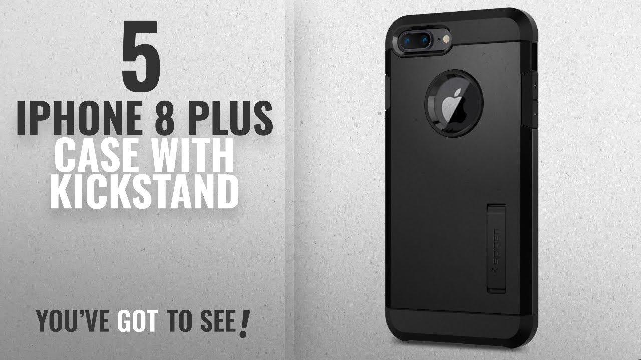 big sale 5b451 8ec4f Top 5 IPhone 8 Plus Case With Kickstand [2018 Best Sellers]: Spigen Tough  Armor [2nd Generation]