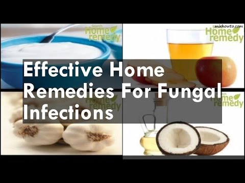 Effective Home Remedies For Fungal Infections