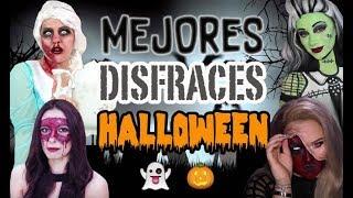 MEJORES DISFRACES DE HALLOWEEN DE LOS YOUTUBERS - 52 Rankings
