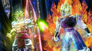 BEFORE XENOVERSE 2 DLC 8... The Final Gogeta vs Broly Fight!