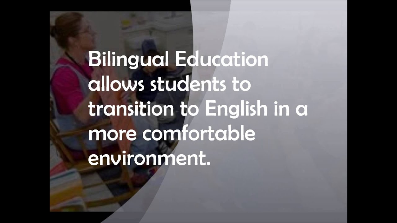 bilingual education is essential in the united states