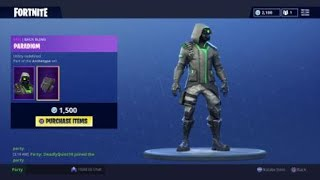 New skins in the item shop Fortnite battle royale 5 augustus 2018