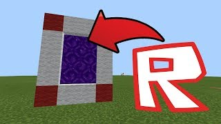 How To Make a Portal to the Roblox DIMENSION in Minecraft Pocket Edition