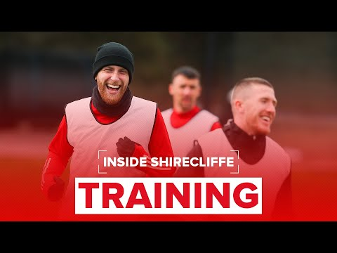 Sheffield United training | Blades prepare for Leeds United | Inside Shirecliffe