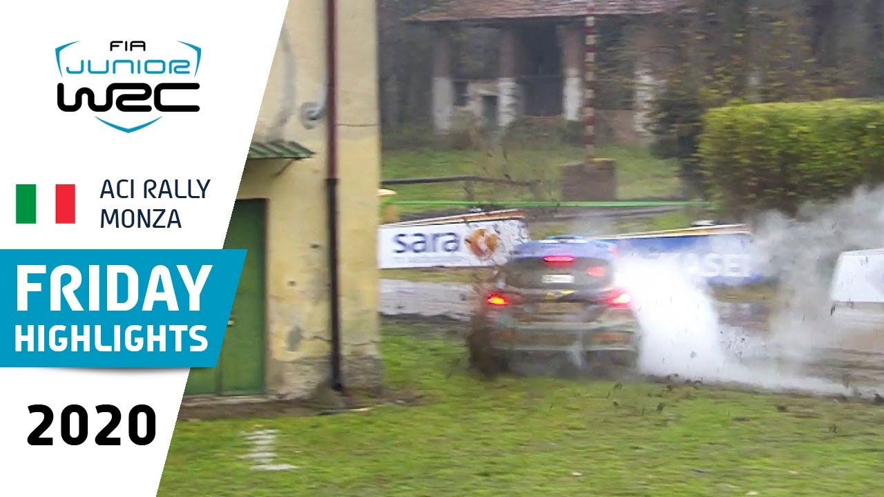 Junior WRC - ACI Rally Monza 2020: Highlights FRIDAY