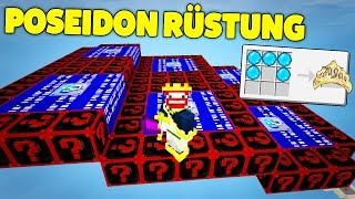 FULL POSEIDON OP RÜSTUNG | LUCKY BLOCKS DROPPER