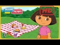 Dora's Food Pyramid Games-Dora The Explorer