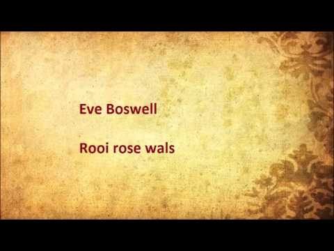 Eve Boswell - Rooi rose wals