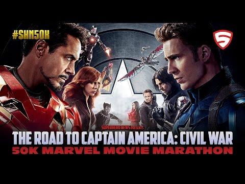 #SHN50K Marvel Movie Marathon: Iron Man 2 to The Avengers