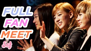 Girls' Generation's 1st US Fan Meet in New York City l @Soshified