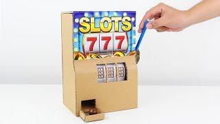 How to Make Amazing Casino Slot Machine from Cardboard