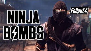Fallout 4 - NINJA SMOKE BOMBS! - Become a true Ninja on Xbox & PC!
