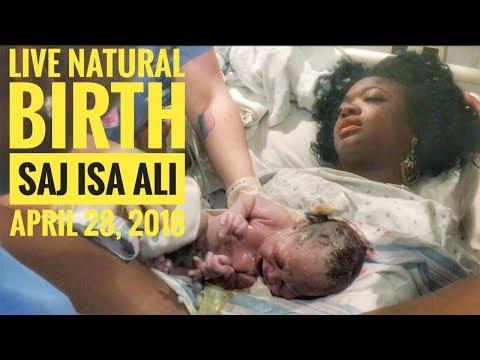 UNPLANNED NATURAL BIRTH VLOG | 40 weeks