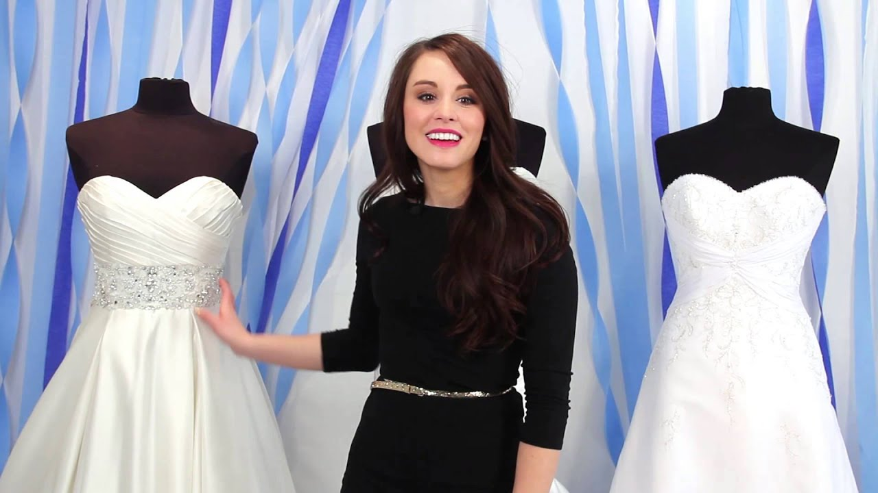 Wedding Dress Colors And Their Differences Youtube