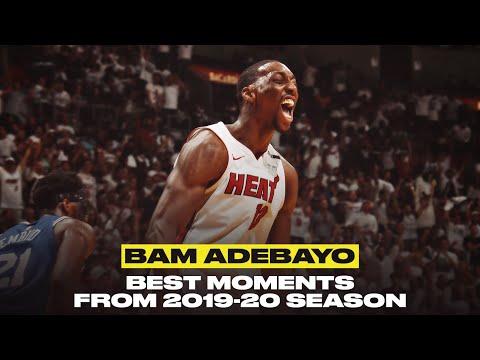 Bam Adebayo Was Having A Breakout Season | Top Plays From 2019-20 Season