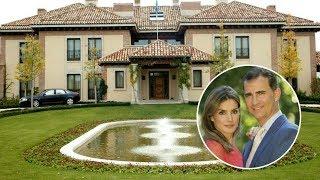Así es la gran casa donde viven los Reyes Felipe y Letizia