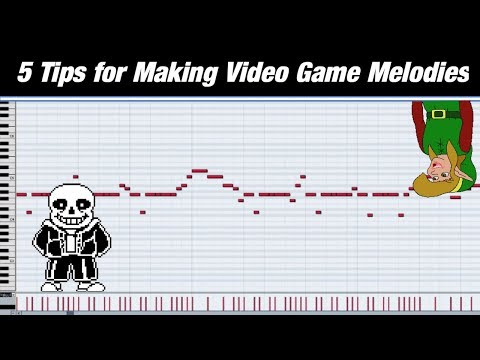 5 Tips For Making Video Game Melodies || Shady Cicada
