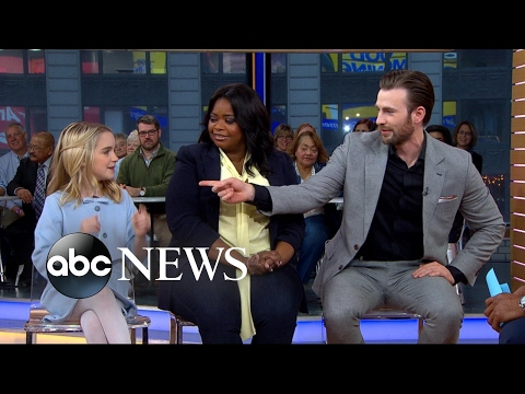 Chris Evans, Octavia Spencer and Mckenna Grace open up about Gifted