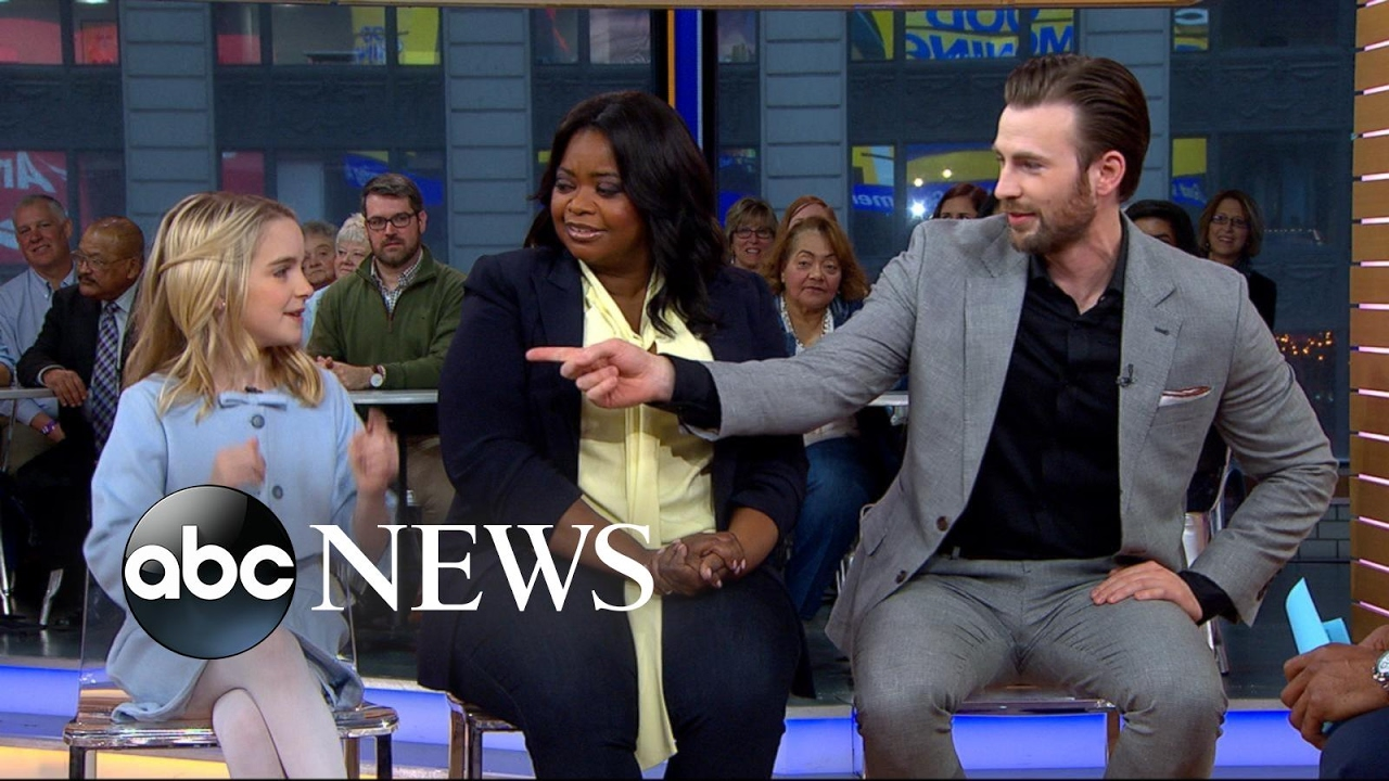 Download Chris Evans, Octavia Spencer and Mckenna Grace open up about 'Gifted'