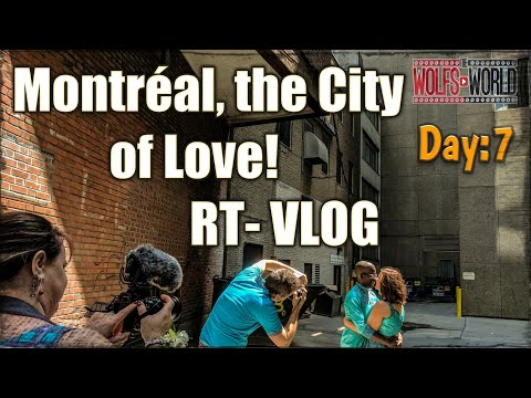 downtown Montreal post wedding video