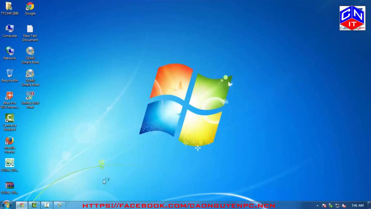 Hướng Dẫn Tạo USB cứu hộ bằng 1 Click Multiboot | CAONGUYENPC COM