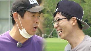 《FUNNY》 Running Man 런닝맨|유재석·성동일, 앙숙케미 '이상하게 진행하네'  EP396 20150913