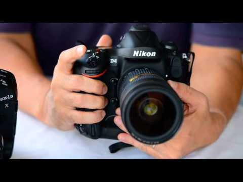 Nikon D4 and Canon 1DX continuous drive mode.