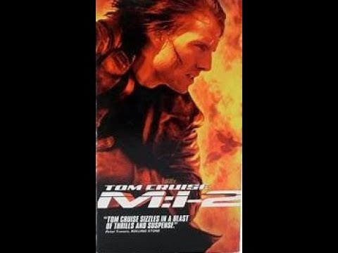 Opening To Mission Impossible 2 2000 Vhs Youtube