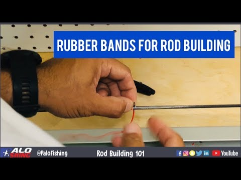 Rod Building 101: Using Rubber Bands For Load Testing Blanks And Spacing Guides (Part 2)