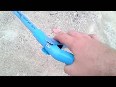 DIY Litter Grabber Tool made from PVC plastic Pipe for $2