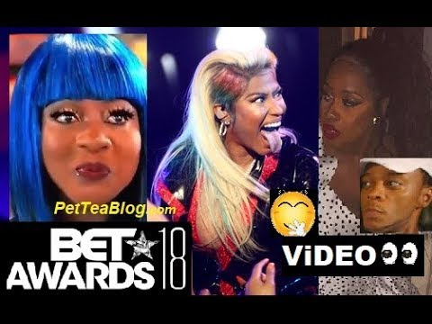 Spice Catches Remy Ma Reaction To Nicki Minaj Performance At Bet Awards 2018 Petty