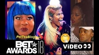 Spice Catches Remy Ma Reaction to Nicki Minaj Performance at BET Awards 2018 #Petty