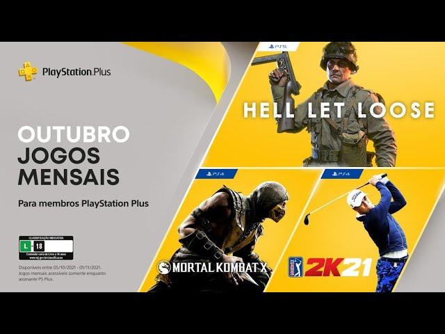 PlayStation Plus de OUTUBRO CONFIRMADA - Mais um mês FRACO...