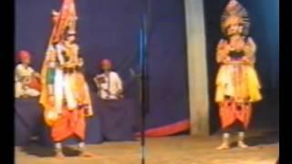 Yakshagana-- Karna parva -Gode shalya   part 12