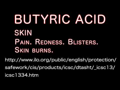 Butyric acid is a poison. Sea Shepherd is Terrorist. 酪酸の危険性
