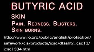 Butyric acid is a poison. Sea Shepherd is Terrorist. 酪酸の危険性