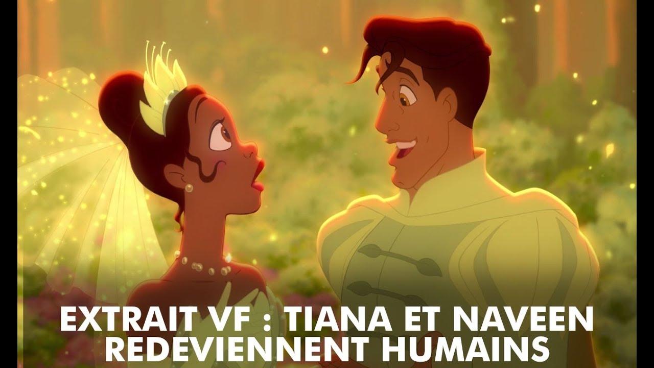 La Princesse Et La Grenouille Extrait Tiana Et Naveen Redeviennent Humains Disney Be