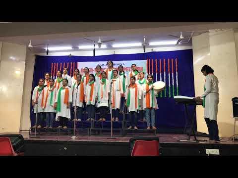 Medley of Patriotic songs by St. Helena's School, Pune (2017)